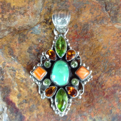 Leo Feeney Traditional Sterling Silver Pendant -- ON SALE