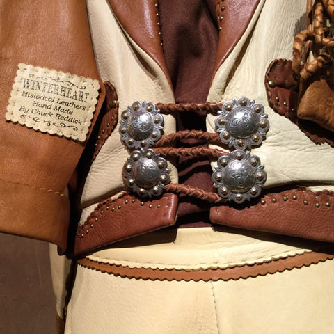 Vintage Western 3-Piece Cowgirl Ensemble by Chuck Reddick - Estate