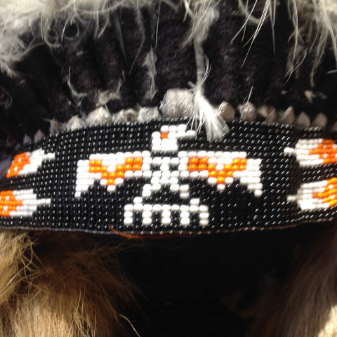Thunderbird Headdress by Navajo Artists