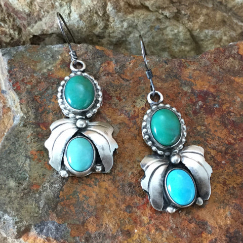 Campitos & Fox Turquoise Sterling Silver Earring