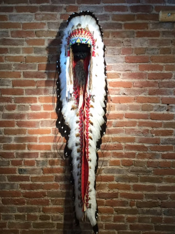 "76"" Victory Headdress w/ Double Trailer by Russ Kruse"