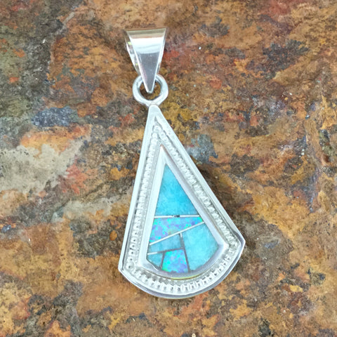 David Rosales Amazing Light Sterling Silver Pendant