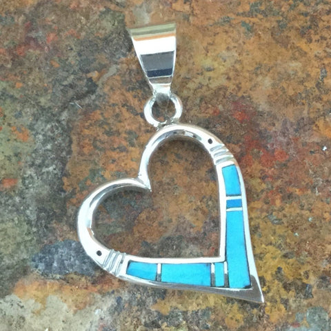 David Rosales Arizona Blue Sterling Silver Pendant