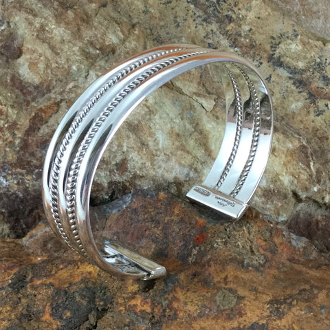 Sterling Silver Bracelet by Artie Yellowhorse