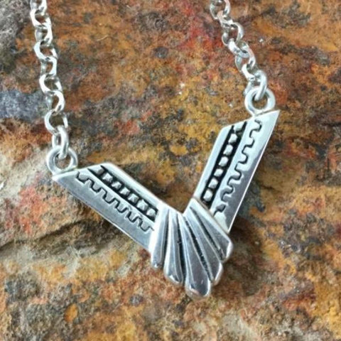 David Rosales Silver Country Sterling Silver Necklace
