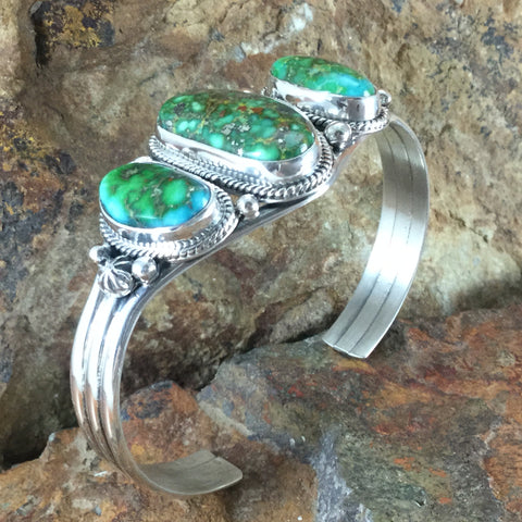 Sonoran Turquoise Sterling Silver Bracelet