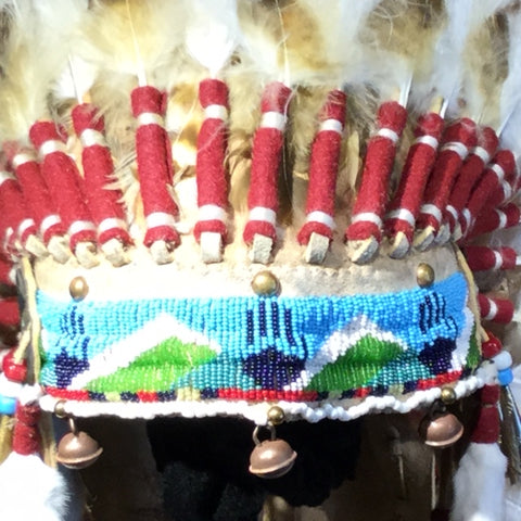 "38"" Victory Headdress by Russ Kruse"