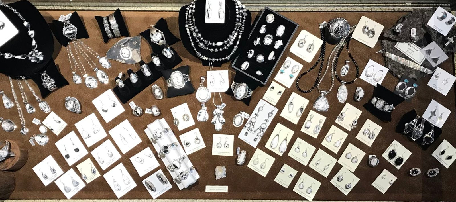 White Buffalo Jewelry from Black Arrow Jewelry & Art