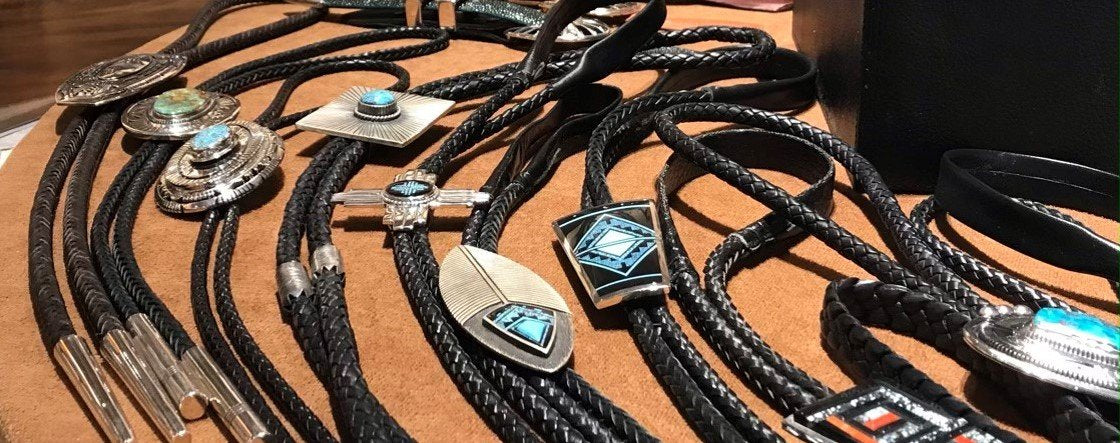 Bolo Ties from Black Arrow Jewelry & Art
