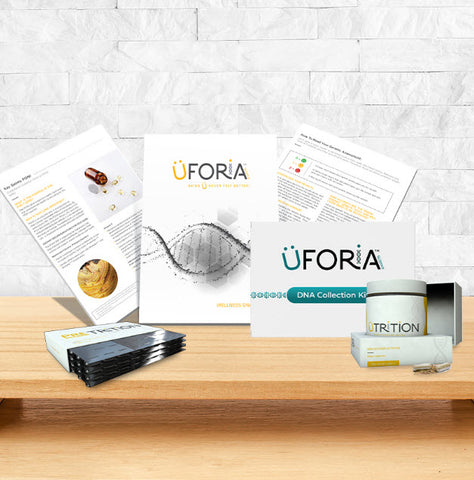 Furniture - Uforia Discovery Kit Nutrition or Weight Management 30 Capsule PreTRITION DNA Based Nutrition
