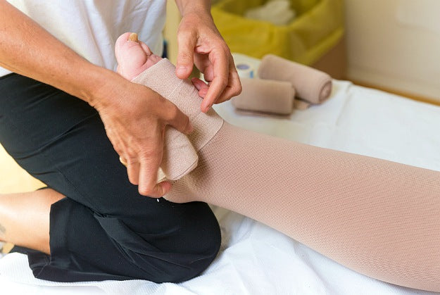 Wrapping and Compression | Lymphedema Treatment! By Dr. Stephen Smith
