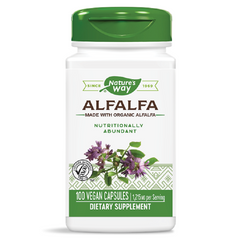 Nature's Way | Alfalfa Leaves (COG) | 100 Capsules