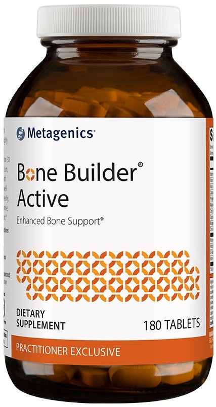 Metagenics | Cal Apatite Bone Builder Active | 180 Tablets