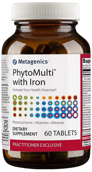 Metagenics | PhytoMulti® with Iron | 60 Tablets