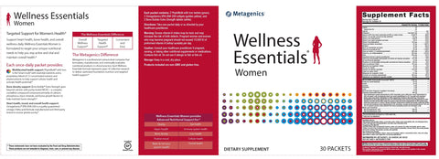 Metagenics | Wellness Essentials® Women | 30 Packets