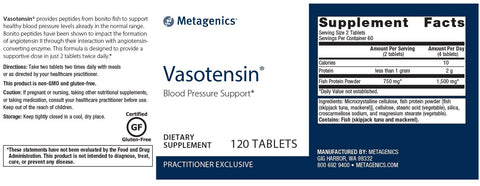 Metagenics | Vasotensin® | 120 Tablets