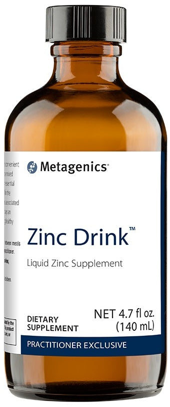 Metagenics | Zinc Drink™ 4.7 fl oz | 28 Servings