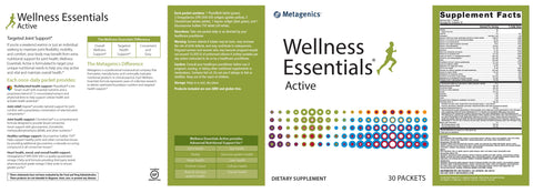 Metagenics | Wellness Essentials® Active | 30 Packets