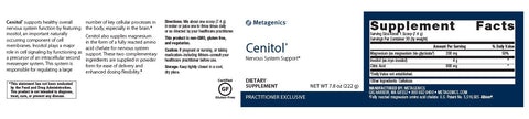 Metagenics | Cenitol® Powder | 30 Servings