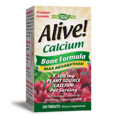 Nature's Way | Alive! Calcium | 60 - 120 Tablets - 120 Capsules