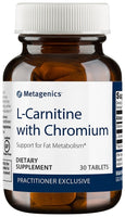 Metagenics | L-Carnitine with Chromium | 30 Tablets