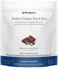 Metagenics | Perfect Protein® Pea & Rice Chocolate | 30 Servings