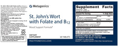 Metagenics | St. John's Wort with Folate and B12 | 60 Tablets