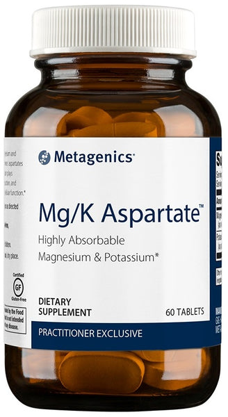 Metagenics | Mg/K Aspartate™ | 60 Tablets