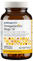 Metagenics | OmegaGenics® Mega 10® Lemon | 60 Softgels