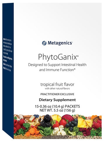 Metagenics | PhytoGanix® Tropical Fruit Stick Pack Box | 15 Servings