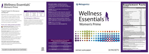 Metagenics | Wellness Essentials® Women's Prime | 30 Packets