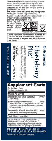 Metagenics | Chasteberry Plus® | 60 Tablets