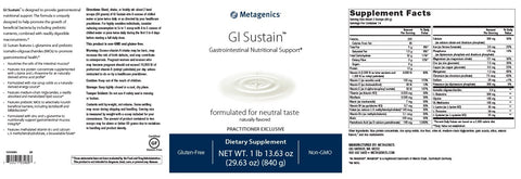Metagenics | GI Sustain™ Powder | 14 Servings