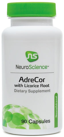 NeuroScience | AdreCor with Licorice Root | 90 Capsules