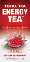 Total Tea | Herbal Energy Tea | 1.85 oz