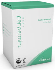 Total Tea | Pure Organic Peppermint Tea | 0.71 oz