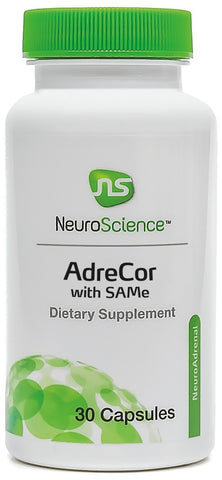 NeuroScience | AdreCor with SAMe | 30 Capsules