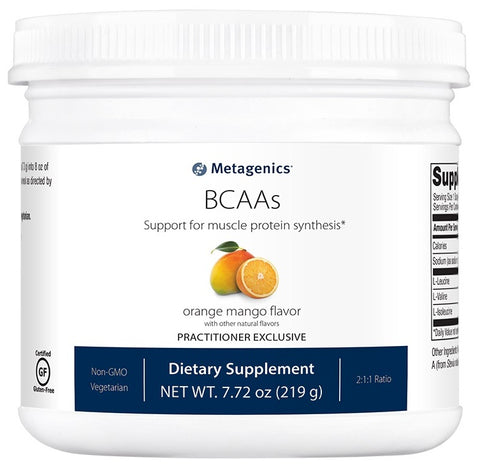 Metagenics | BCAAs Orange Mango Flavor | 30 Servings