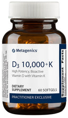 Metagenics | D3 10,000 + K | 60 Softgels