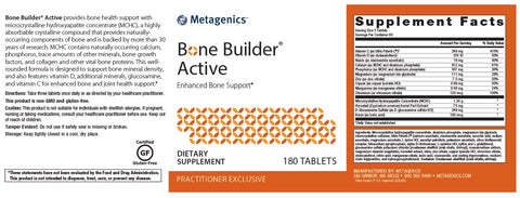 Metagenics | Bone Builder Active | 180 Tablets