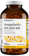 Metagenics | OmegaGenics® EPA-DHA 500 Lemon | 120 - 240 Softgels