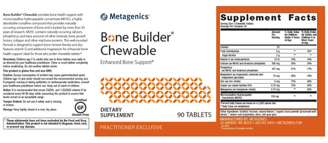 Metagenics | Bone Builder® Chewable Choc | 90 Tablets