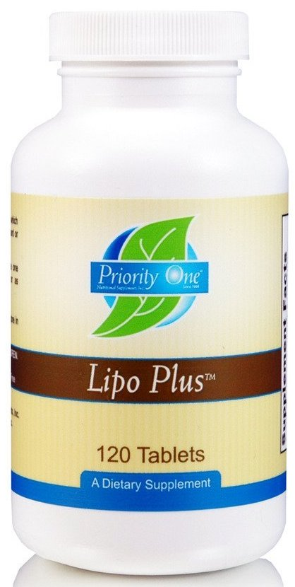 Priority One | Lipo Plus | 120 Tablets
