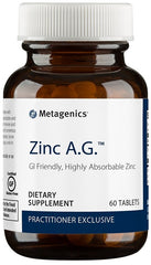Metagenics | Zinc A.G.™ | 60 - 180 Tablets