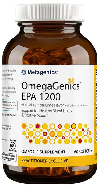 Metagenics | OmegaGenics® EPA 1200 Lemon Lime | 60 - 90 Softgels