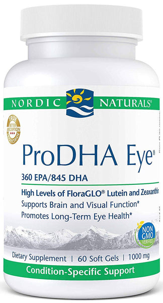 Nordic Naturals | ProDHA Eye 1000mg | 60 - 120 Softgels