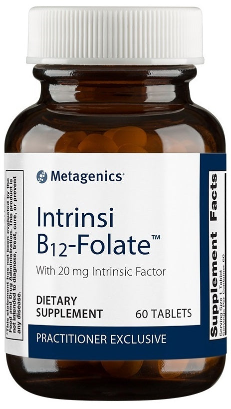 Metagenics | Intrinsi B12/Folate™ | 60 and 180 Tablets