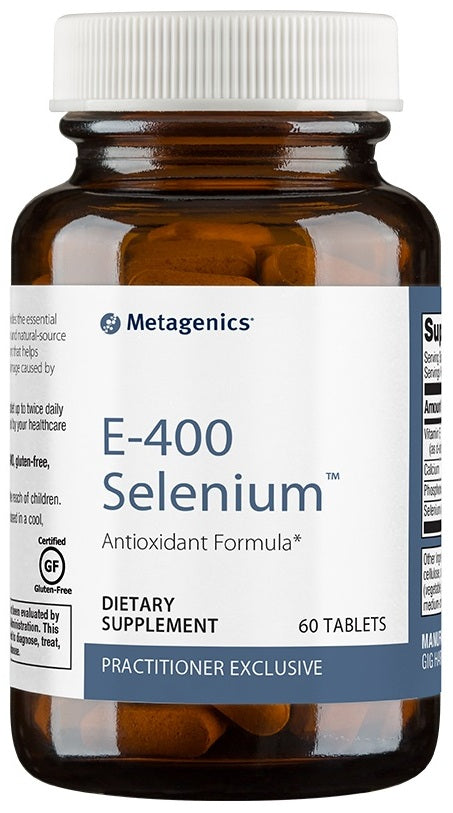 Metagenics | E-400 Selenium™ | 60 and 180 Tablets