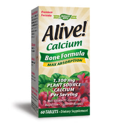 Nature's Way | Alive! Calcium | 60 - 120 Tablets - 60 Capsules