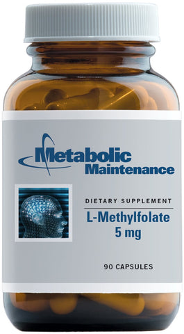 Metabolic Maintenance | L-Methylfolate 5 Mg | 90 Capsules